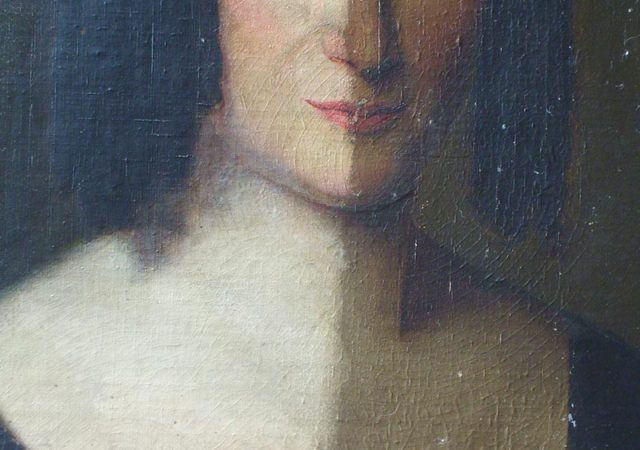 Portrait of 19th Century Lady
