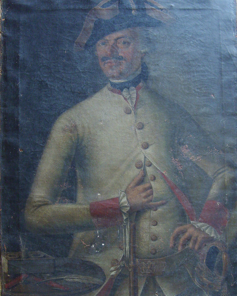 Prussian Officer Before Restoration