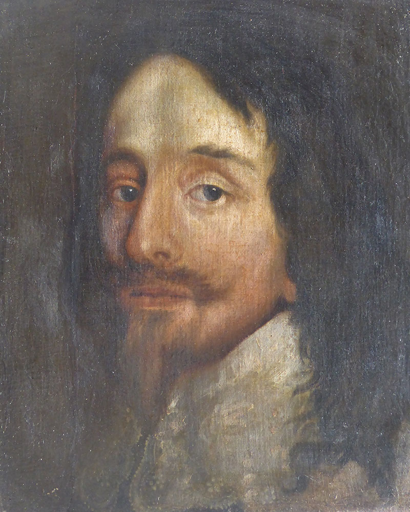 Portrait after Van Dyck