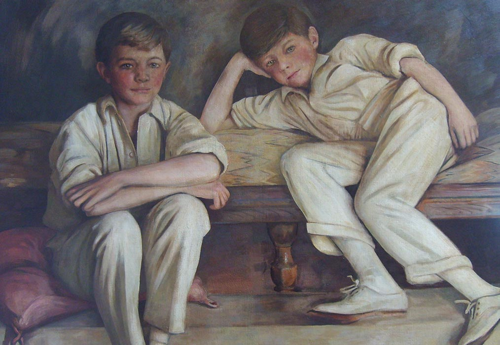 Cricketers After Restoration